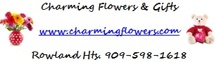 Charming Flowers and Gifts Logo
